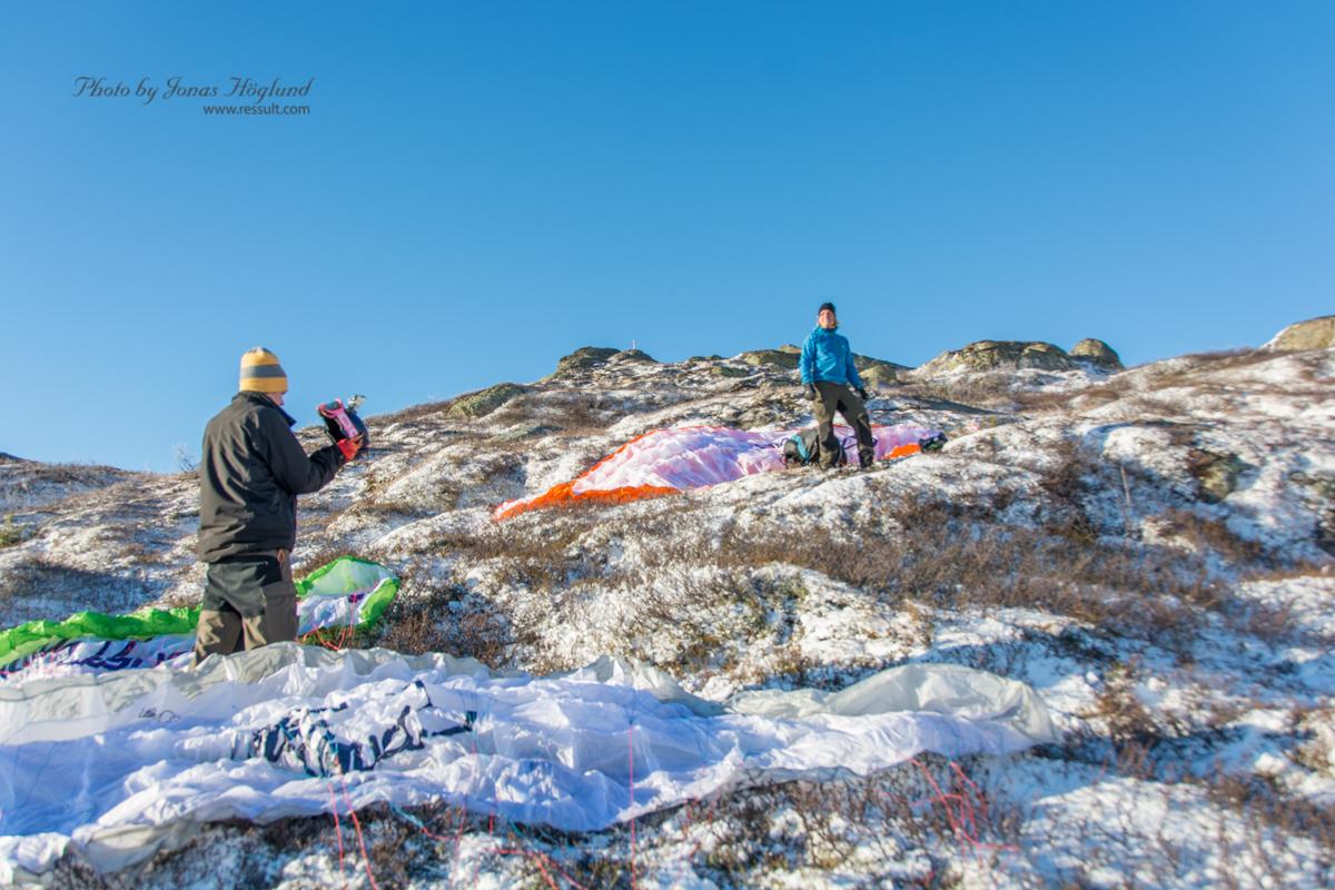 Hike'n Fly från Åreskutan